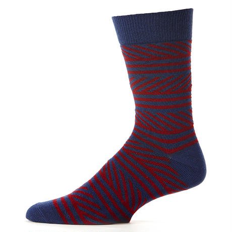 【SFA-MSK-CLN-1S】PACT(パクト メンズ)-MEN'S-CREW SOCK 2P-COASTLINE-オーガニックコットン 2足セット 靴下