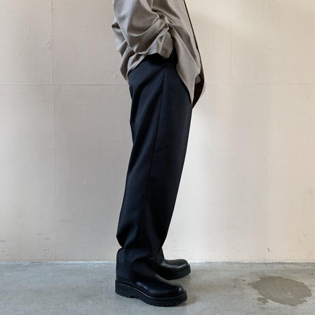 AURALEE MEN - WASHABLE WOOL TROPICAL SLACKS