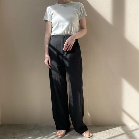 YOUNG&OLSEN - SUVIN FRENCH RIB SS TEE