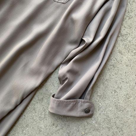 BLUEBIRD BOULEVARD - ソフトツイルシャツドレス