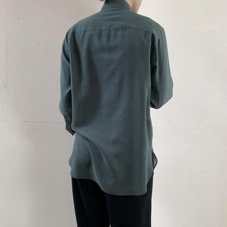 AURALEE - WOOL RECYCLE POLYESTER CLOTH SHIRT