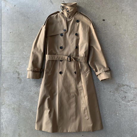 HYKE - TRENCH COAT / BIG FIT