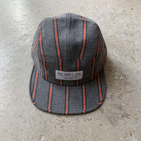 THE QUIET LIFE - Striped Flannel 5Panel Camper Hat