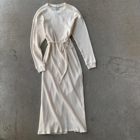 Baserange - Shaw Long Sleeve Kaftan-Fleece Rib