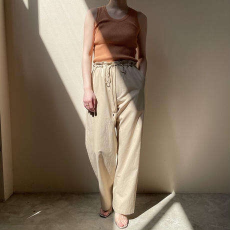 AURALEE - WASHED FINX TWILL EASY WIDE PANTS