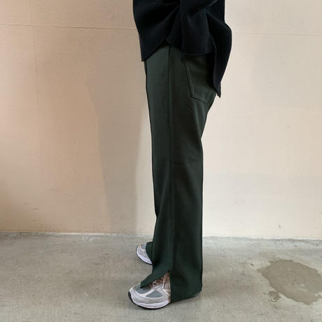mill - SIDE SLIT STA-PREST PANTS