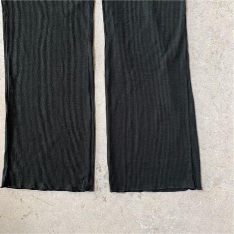 HAKUJI - Noil silk relax pants