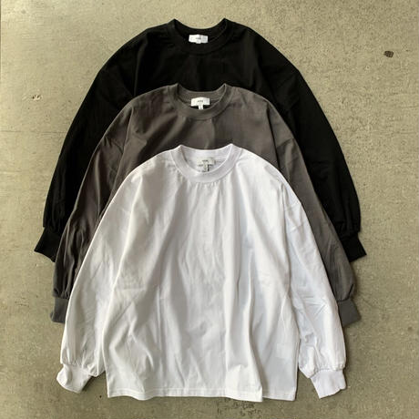 HYKE - LONG SLV TEE / BIG FIT