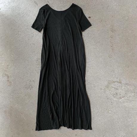 HAKUJI - Noil silk flare dress