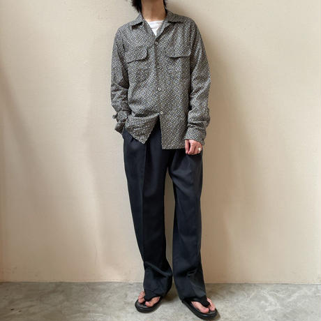FUJITO - Open Collar Shirt
