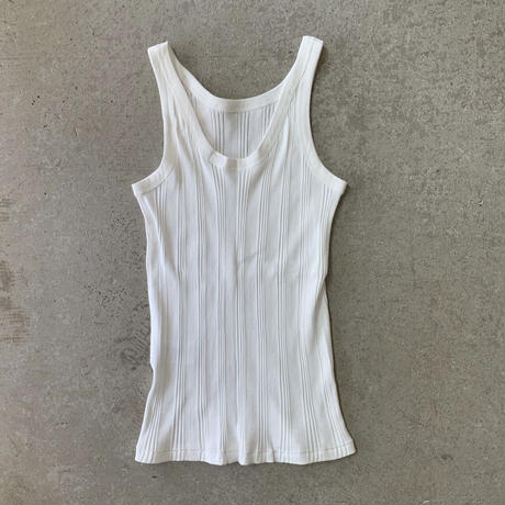 YOUNG&OLSEN - RANDOM RIB BACKWARDS TANK