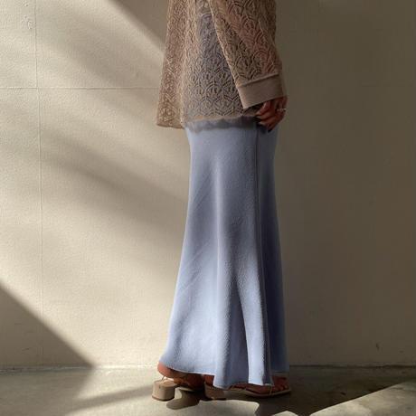 PHEENY - Dobby bias skirt