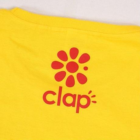 (CLAP)  C.P.CLAP  Tee  イエロー