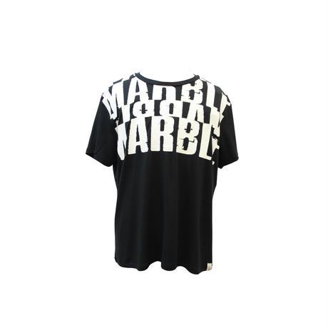 (Marble) メンズTシャツ ブラック
