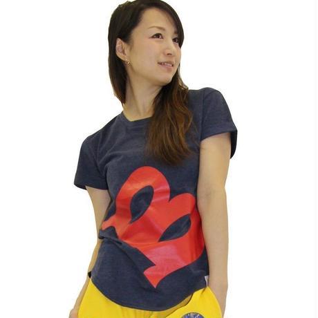 (Marble)  ラウンドTシャツ ネイビー