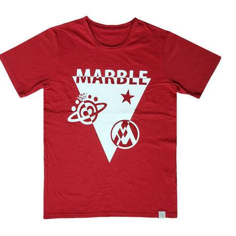 (Maeble) ユニセックス Tシャツ(レッド)