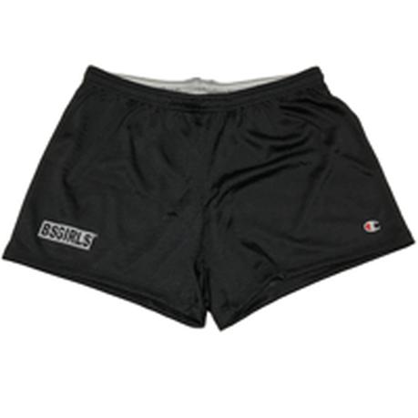 BSG  BOX  LOGO  Champion🄬MESH  Short ブラック