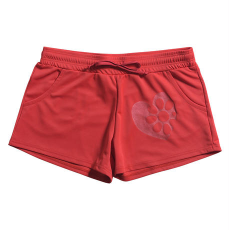 (CLAP)  SOLID  SHORTS レッド