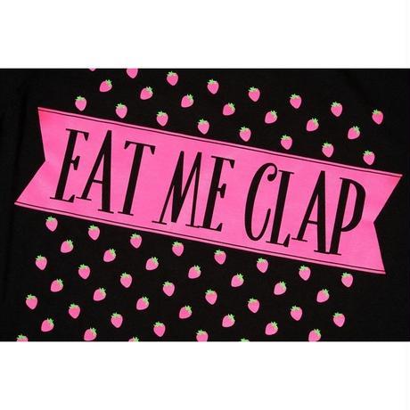 (CLAP) EAT ME CLAP Tee ブラック