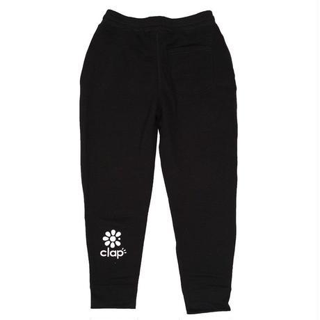 (CLAP)  CLAPPLE  FIT  Sweat  Pants  ブラック