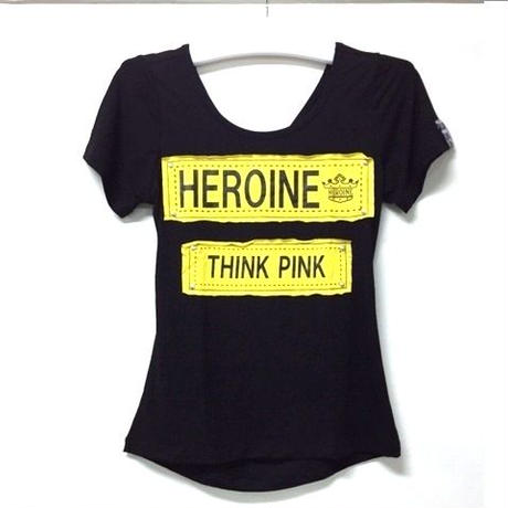 (HEROINE)  バックデザインフレンチ ブラック