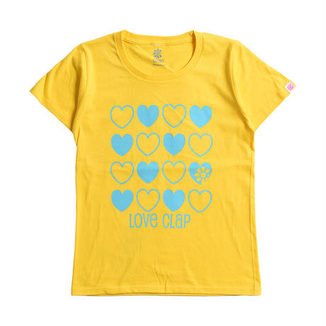 (CLAP) LOVELOVE-CLAP Tee イエロー