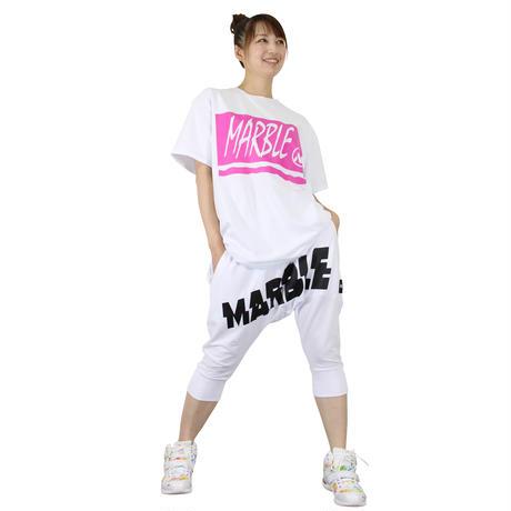 (Marble)BigTシャツ WHT UNISEX MサイズLサイズXLサイズ