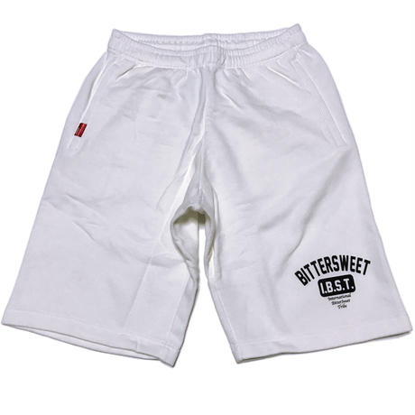 I.B.S.T.  SWEAT  SHORT    ホワイト