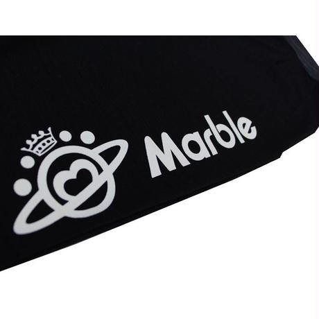 (Marble)  タイトカプリパンツ ブラック