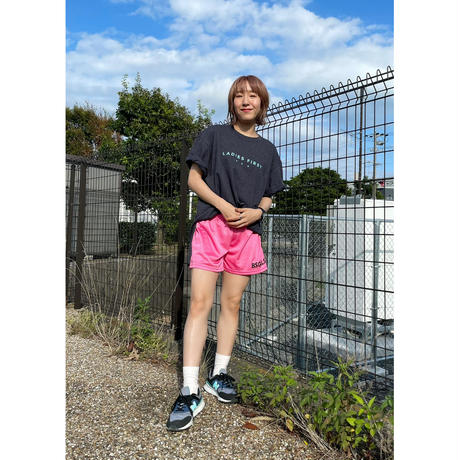 "POP STAR GIRLS LOGO 3.5"" MESH SHORTS ピンク"
