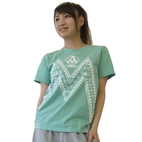 (Marble) ユニセックス Tシャツ(ミント)