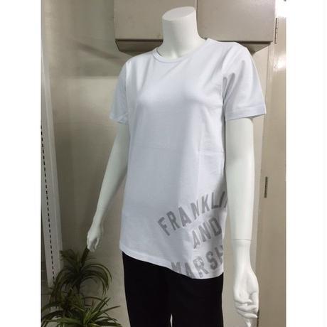 (FRANKLIN&MARSHALL)  バック切替メッシュTシャツ