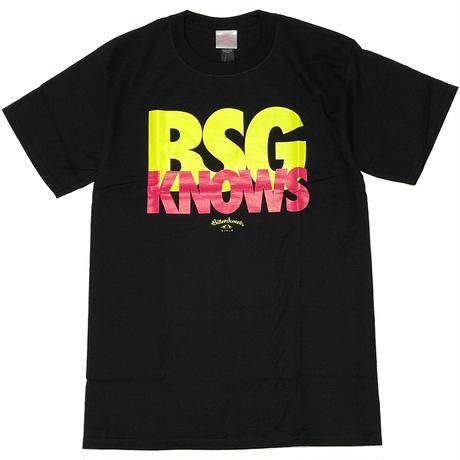 BGS KNOWS S/S Tee ブラック
