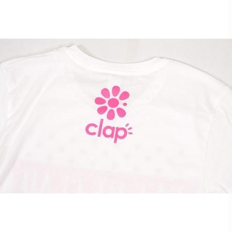 (CLAP) EAT ME CLAP Tee ホワイト