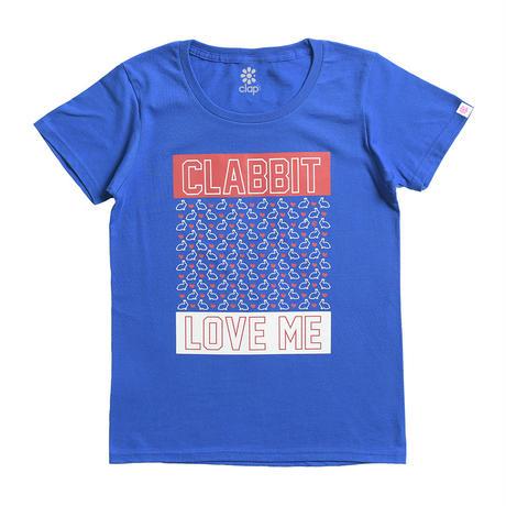 (CLAP)  CLABBIT Tee ブルー