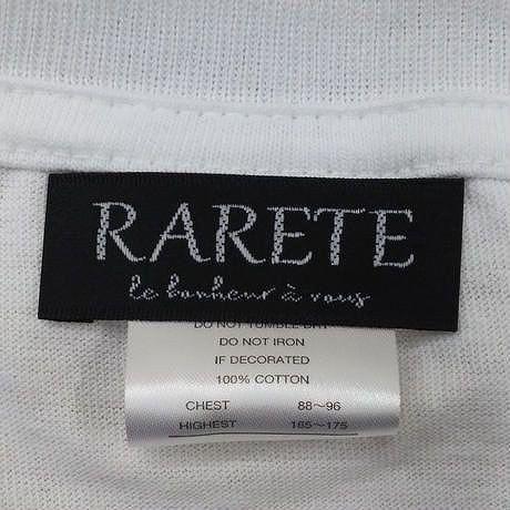 RARETE (ラルテ)  / マリリンモンロー 銃  ピストル Tシャツ 星柄 star  ホワイト