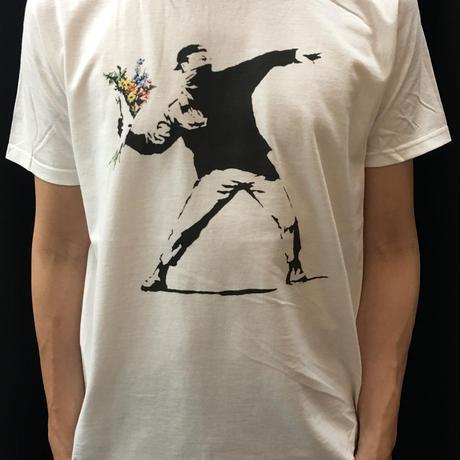 BANKSY バンクシーTシャツ