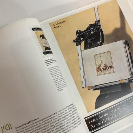 75/250 Collection of Covers Heidelbelg News 1930-2005/Heidelbelg Druckmakschinen AG[レア本]