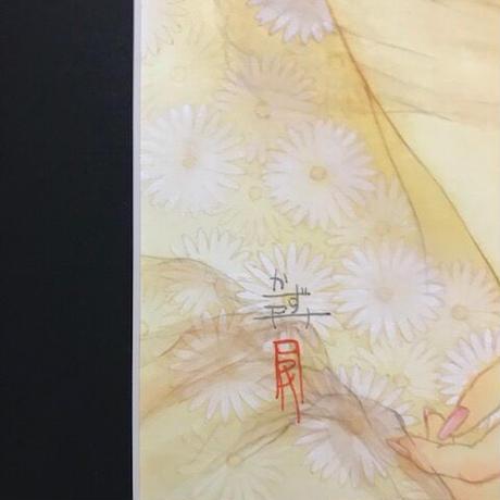 松平一民 「奴奈川姫」(ぬなかわひめ)    P6号       Matsudaira Kazutami