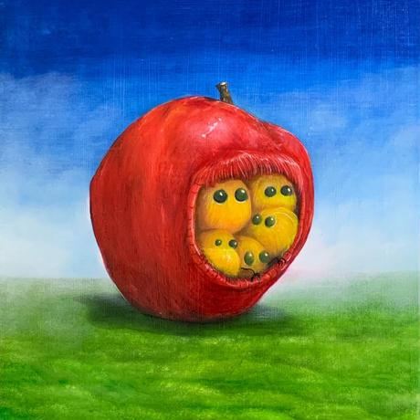 守屋麻美「リンゴの妖精」F3 Moriya  Asami