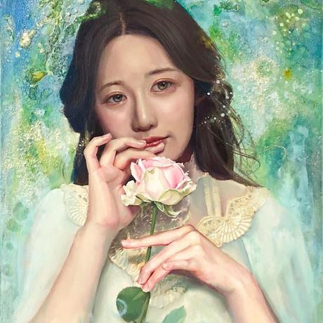 西脇 恵「ほころびの記憶」F4号 NISHIWAKI Megumi