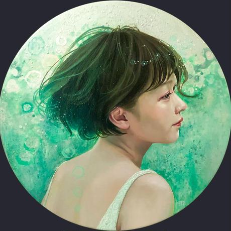 西脇 恵「雫芽のたより」3号正円  NISHIWAKI  Megumi