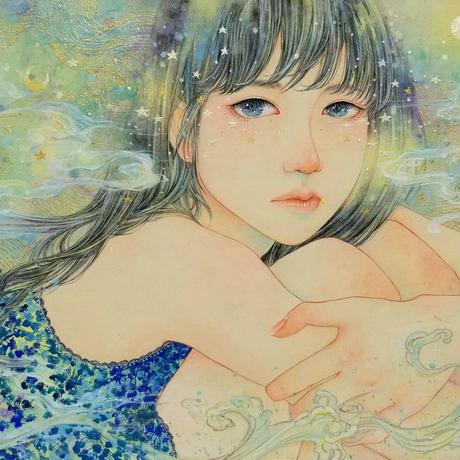 こみや梢子「わたしの世界」 F4号  Komiya   Shoko