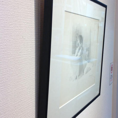 上杉 尚 「女と髑髏」   H23xW29      Uesugi Takashi