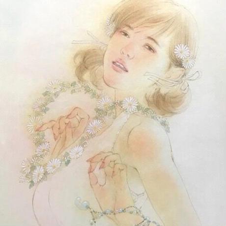 松平一民「級長戸辺命」(しなとべのみこと) 340×245 Matsudaira Kazutami