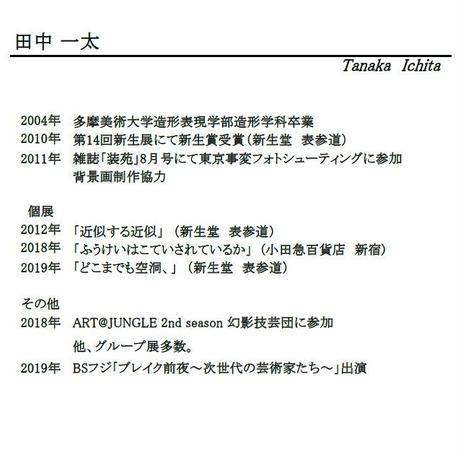 田中一太「gastroliths」196×294mm     Tanaka Ichita