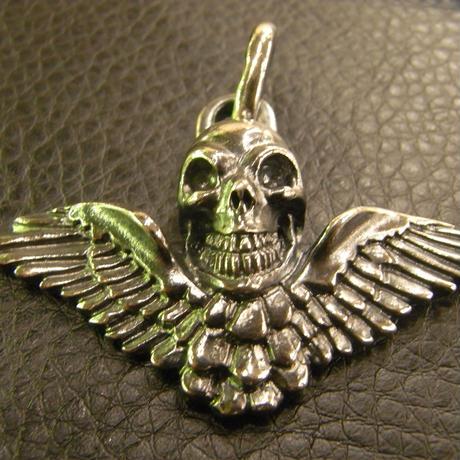 Wing Skull Pendant[P-69]