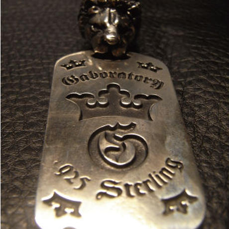Lion With H.W.O Dog Tag[DT-03]