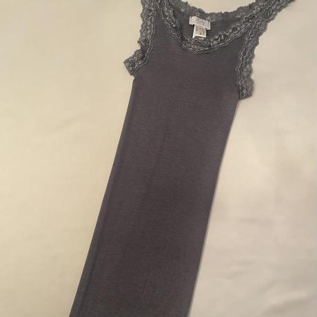 Wool/Silk camisole Grey