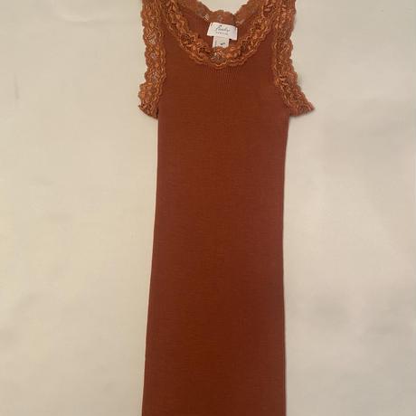 Wool/Silk camisole Sand Orange